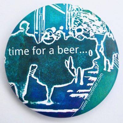 Time for a Beer magnetic bottle opener