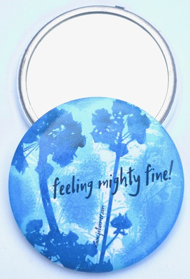 Feeling Mighty FIne Pocket Mirror
