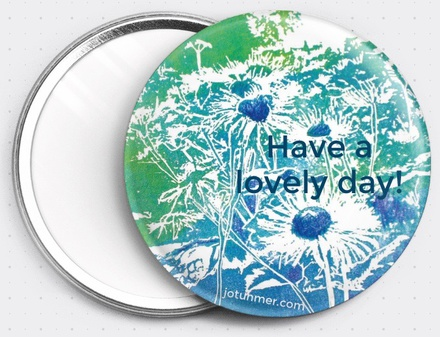 Have a Lovely Day Pocket Mirror