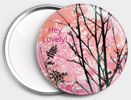 Hey Lovely! Pocket Mirror